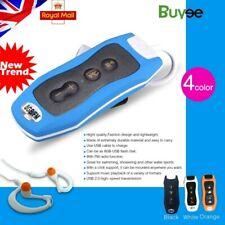 Blu 8 GB IMPERMEABILE MP3 Lettore musicale Nuoto Surf SPORT RADIO FM + AURICOLARI