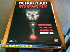 Il WISHMASTER (Wes Craven FILM HORROR) POSTER a2