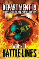 Battle Lines by Will Hill 9780007354535 | Brand New | Free UK Shipping