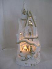 Christmas Fine Porcelain Night Light ~ *Gift Idea