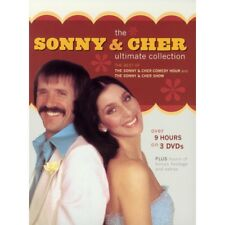 Sonny And Cher - The Ultimate Collection (DVD, 2004, 3-Disc Set)