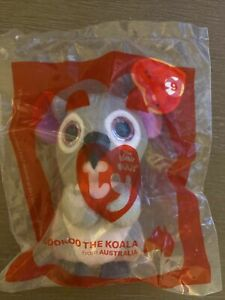 2021 McDonalds Happy Meal Ty Teenie Beanie Boos Kookoo The Kola 9 New