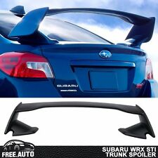 Fit For 15-18 Subaru WRX STI ABS Unpainted Rear Trunk Spoiler OE Style