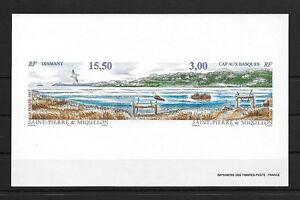 St.Pierre & Miquelon,1997,Nature,imperf .GUM paper ,MNH