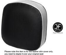 Blanco y Negro personalizado de vinilo cabe Honda F6C Valkyrie respaldo 96-05 Cubierta de asiento