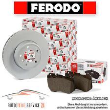 2 DISCHI FRENO ANTERIORI ventilate FERODO 288mm e belage AUDI a3 VW GOLF TOURAN