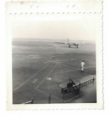 Photograph Airport 1950s Eastern Airlines Douglas DC-4 Cloudy Day 3x3
