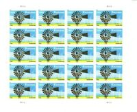 Kansas Statehood Sheet of 20 Forever Postage Stamps Scott 4493