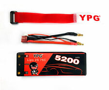 YPG 5200mah 7.4V 75C 2S Lipo Battery Deans For RC Helicopter Car Boat Truck NEW