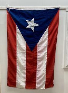 Salvaged Vintage Puerto Rico Flag