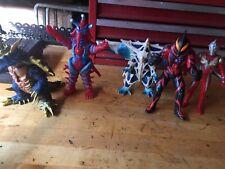 Bandai 6 Inch Scale Ultraman Kaiju Lot 5 Figures