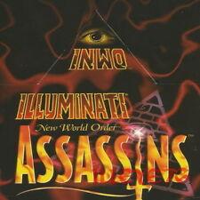 ASSASSINS - ALL 50 Common Set  * Illuminati INWO Card Game *  NEW WORLD ORDER