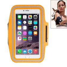 Custodia porta cellulare fascia da braccio Arancione per Iphone 6 Plus e 6s Plus
