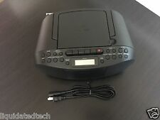 Sony CFD-S70 Boombox CD Player w/ Am/Fm Radio & Cassette Rec & Player - CFDS70