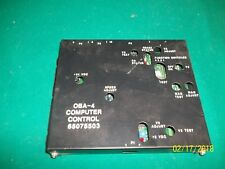 Rowe Oba-4 Computer Control Part # 65075503 Used Untested for Parts or Repair
