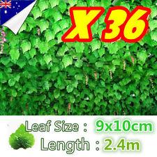 PK36 Green Leaf Ivy Vine Plant Fake Foliage Wedding Party Decoration Artificial