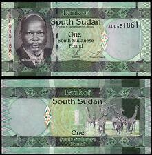 SOUTH SUDAN 1 POUND (P5) N. D. (2011) UNC