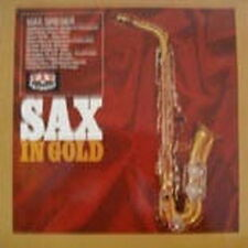 """12"""" LP Max Greger Sax in Gold (Moon River, Petite Fleur) 70`s Polydor Karussell"""