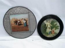 Pr Vintage Chimney Flue Covers Guardian Angel Children Farmer's Field Victorian