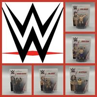 WWE MATTEL MINI WRESTLING FIGURE - CAKE TOPPER - BALOR CENA REIGNS ROCK STYLES