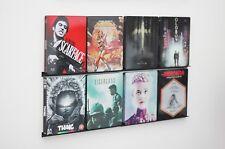 DVD/Bluray Leiste, Wandhalter, Display Regal (für 8 Filme) Deko, Steelbook