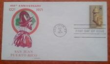 First day of issue, 1971, 450th Annv San Juan Puerto Rico, Scott # 1437