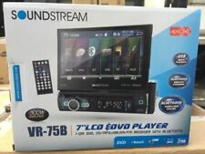 "Soundstream VR75B 7"" Touchscreen, Single Din W/ DVD, CD/MP3, AM/FM Receive W/ BT"