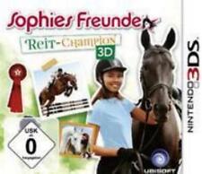 Nintendo 3DS Sophies Freunde Reit Champion 3D Deutsch Neuwertig