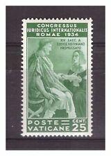 s16606) VATICANO 1935 MXLH* Nuovi Linguellati* Giuridico 25c 1v