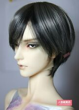 BJD Doll Hair Wig 8-9 inch 20-22cm Mixed color grey black 1/3 SD DZ DOD LUTS