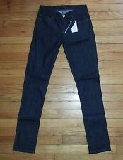 Juicy Couture Skinny Jeans Dk Blue Sz 26 27x32 Dark Rinse NWT $128+ p2775