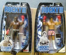 Jakks Pacific Rocky 3 lot - Clubber Lang and rocky new in box