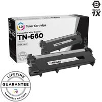 LD © Comp Black Laser Cartridge for Brother Toner TN660 MFC-L2680W MFC-L2685DW