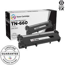 LD © Comp Black Laser Cartridge for Brother Toner TN660 MFC-L2680W MFC-L2685DW