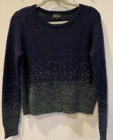 Berenice Wool Mohair Metallic Sweater Sz S