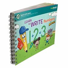 LeapFrog LeapReader Book Learn to Write Numbers with Mr Pencil Ages 4+ New Toy