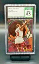 1995-96 Fleer MICHAEL JORDAN Total O Hot Packs INSERT CSG 8.5 Bulls #2 of 10