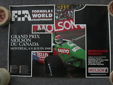 Canadian Grand Prix Formula One Racing Poster - 1990 Montreal