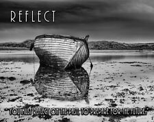 Deep Sea Fishing Boat Motivational Poster Art Print Tuna Lures Reels Rods MVP643