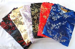 CHINESE DRESS ''SHORT'' QUALITY - 34/36/38/40/42 (6 colours ) SIZE 6/8/10/12/14