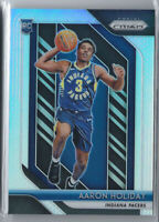 AARON HOLIDAY 2018-19 PANINI PRIZM SILVER REFRACTOR ROOKIE RC #114 PACERS