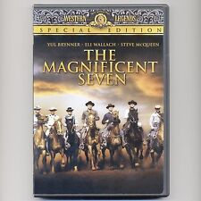 The Magnificent Seven 1960 western new DVD, 2008 Special Edition Brenner McQueen