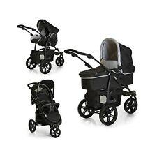 Poussette de promenade noirs hauck pour bébé