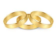 Anillos de joyería de oro amarillo de 18 quilates