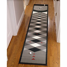 Indoor Putting Green Golf Mat Golfing Practice Training Aid Putt Home Office Rug