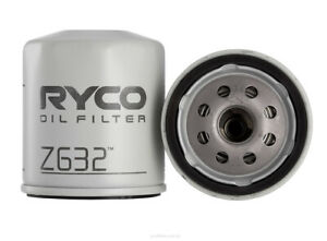 Ryco Oil Filter Z632 fits Ford Fiesta 2.0 i XR4 (WP,WQ) 110 kW
