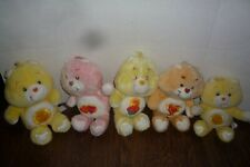 CARE BEARS LOT OF 5 LOOSE PLUSH ORIGINAL 1983 VINTAGE