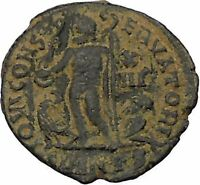 Licinius I Constantine The Great enemy 321AD Ancient Roman Coin Jupiter i45989