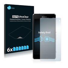6x Protector Pantalla Sony Xperia Z1 Compact D5503 Pelicula Protectora