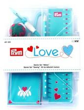 Prym Starter Set cucire Love Forbici Aghi Nahttrenner Pennarelli gesso